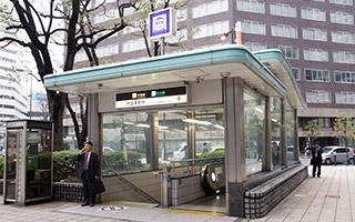 堺筋本町駅近くの歯科駅